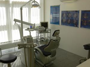 Praxis Dr. Fröhlich  Behandlungszimmer